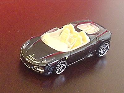 ホットウィールフェラーリ「F430スパイダー」