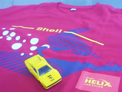 「Shell」×「ユニクロ」 国際企業コラボTシャツ