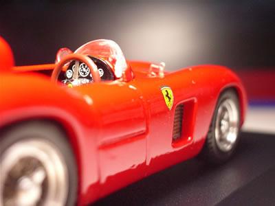 近代のモデルもいいけど、こういうクラシックなフェラーリもいいなぁと思う今日この頃