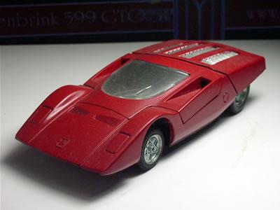 フェラーリ512Sピニンファリーナ(オートピレン 1/43)のミニカー。
