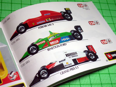 フェラーリ641/2にベネトン・フォード、大人の事情でマクラーレン・ホンダとは言えない「GRAND PRIX F1」ですね。