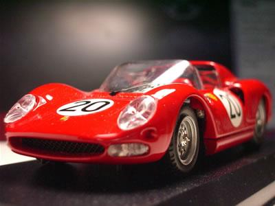 1965年のル・マン24時間レース-プロトタイプクラス-に出走したジャン・ギシェ+マイク・パークス組の20号車。シャシーナンバー0836でございます。
