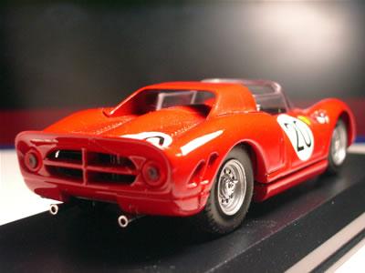 当時のフェラーリとしては様々な近代化が施されたマシンでした。