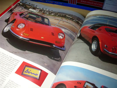 ヴィットリオ・ヤーノとエンツォの息子「アルフレディーノ」が設計したV6エンジン搭載の「Dino」