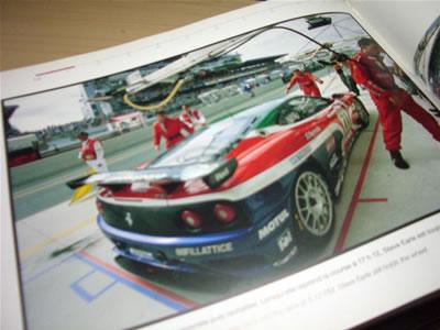 ちなみに、JMB Racingの2008年はGT2クラス4位でした。