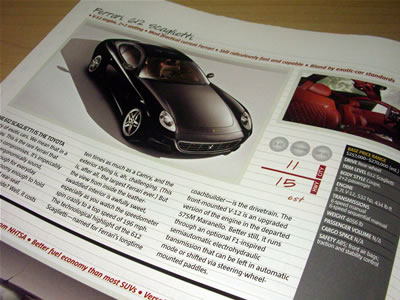 「THE 612 SCAGLIETTI IS THE TOYOTA」ってあるけど、どういう意味だろう?
