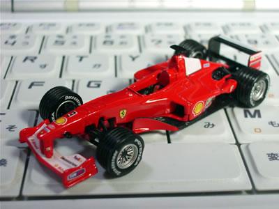 ダイドーフェラーリF1第1弾 F1-2000