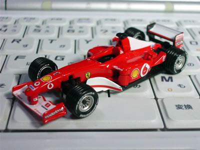ダイドーフェラーリF1第2弾 F2002