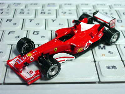 ダイドーフェラーリF1第2弾 F2003GA