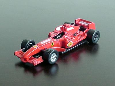 フェラーリF2007。ファミリーマート限定の1/64のミニカーです。