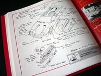 ハセガワ348tbから348tbザガートへの改造法。フンベルトさんの模型製作帳。デザイナーだけあって流石にイラストが上手い。