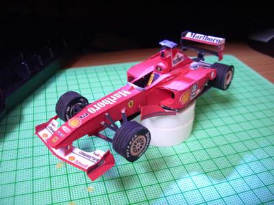 フェラーリF1-2000 タッチアップ後