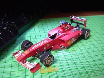 フェラーリF1-2000 タッチアップ前