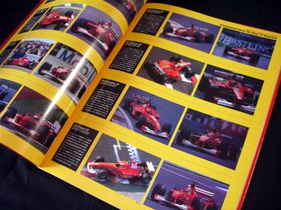 山海堂の「フェラーリF1-2000パーフェクトファイル」。