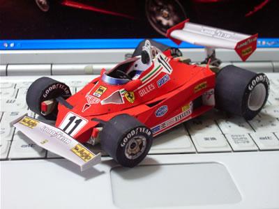 ジル・ヴィルニューブが1977年にドライブしたカーナンバー11のマシン。