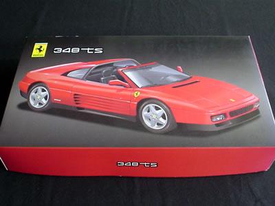 フジミ模型のフェラーリ348ts(1/24)