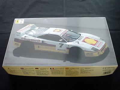 フジミ模型フェラーリ F40(1/24) イタリアスーパーカー選手権 シリーズNo.1 マルコ・ブランド