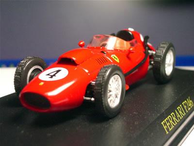 アシェット婦人画報社「フェラーリコレクション」No.18『フェラーリ246F1(1/43)』。