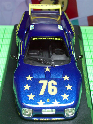 1980年のルマンに参戦した76号車。