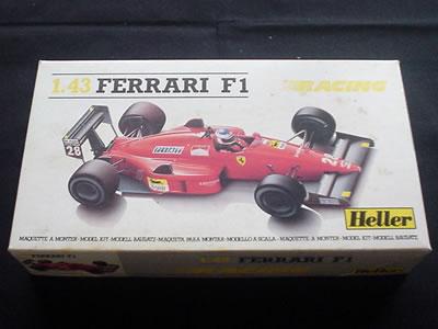 エレール フェラーリF187 1/43 パッケージ