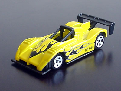 実車は1994年の北米IMSA WSC(ワールドスポーツカー)シリーズに参戦するためのマシン。