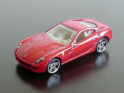 ホットウィール「2007ファーストエディション」フェラーリ599GTB