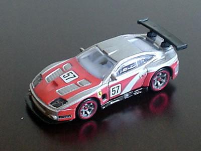 575GTC フェラーリ60周年「ホットウィール フェラーリGTアソート」のNo.16。これが単体。