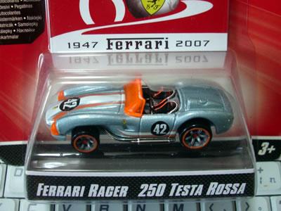 フェラーリ60周年「フェラーリGTアソート」のNo21。フェラーリ250テスタロッサです。