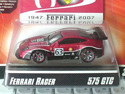 575GTC フェラーリ60周年「ホットウィール フェラーリGTアソート」のNo.4。