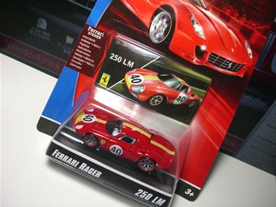フェラーリレーサーズ「フェラーリGTアソート2008」の第2弾BアソートのNo.15「フェラーリ250LM」のミニカー