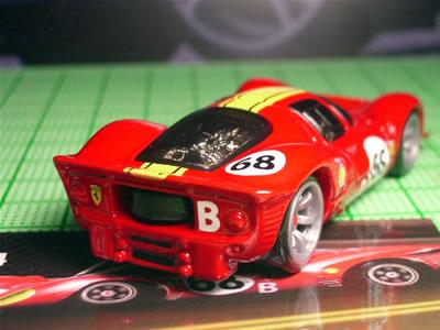 フェラーリ330P4の後ろ姿・・・、好きです・・・。