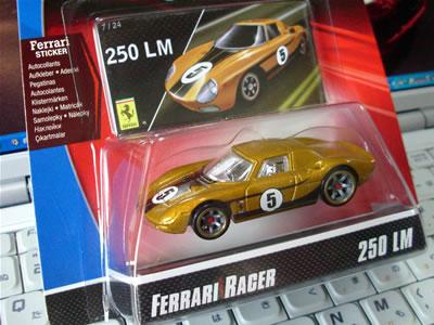 フェラーリレーサーズ「フェラーリGTアソート2008」のフェラーリ250LM!