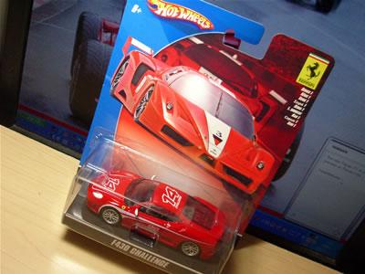 フェラーリFXXに続きこちらの「フェラーリF430チャレンジ」もブリバリしました。