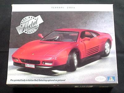 イタレリ フェラーリ 348tb(メタルモデル)1/24 パッケージ