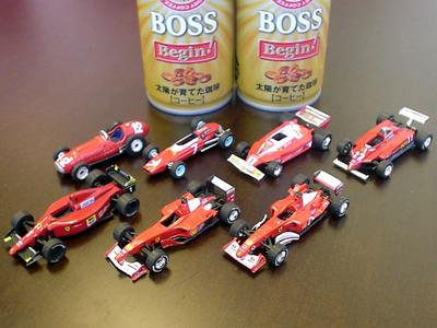 ローソン限定フェラーリミニカー 軌跡のF1コレクション 7種