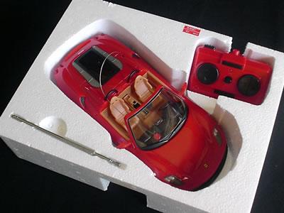 モリガングのラジコン「フェラーリF430スパイダー(1/20)」