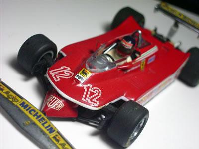 マウロ・フォルギエリがデザインした1979年のF1グランプリ用のフェラーリマシン。