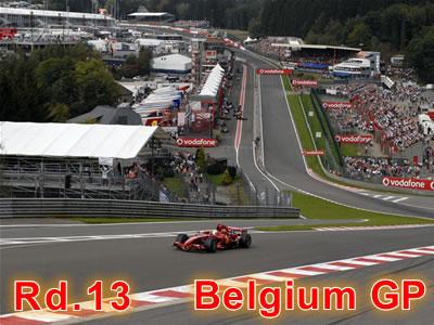 第13戦 ベルギーGP予選