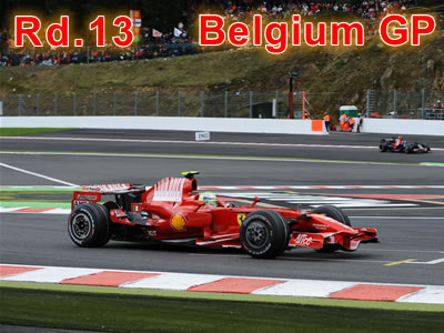 第13戦 ベルギーGP決勝