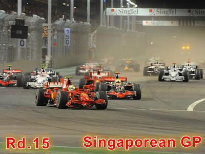 第15戦 シンガポールGP決勝
