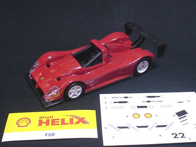 Hotwheels Ferrari 333SP shell model 1/43
