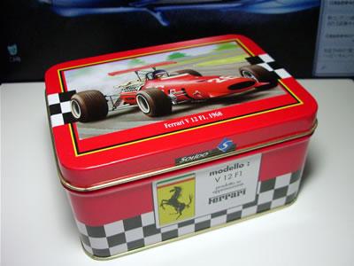 パッケージ(缶)には「V12F1」とありますが、いわゆる「312」ですね。