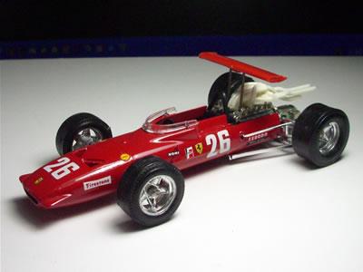 実はこのマシン。フェラーリにおいても、F1グランプリにおいても特別なマシンです。