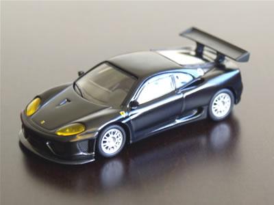 サークルK・サンクスフェラーリ第4弾 360GTCはリアウイングが360N-GT仕様のようですが・・・?