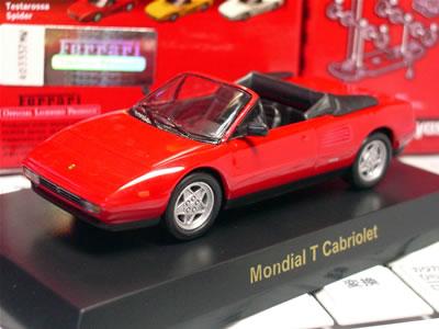『サークルK・サンクス限定京商フェラーリミニカー第5弾』のフェラーリ モンディアル T カブリオレです。
