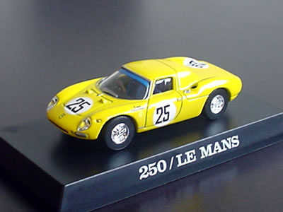 フェラーリ250LM 25号車(1965年ル・マン出走車) サークルK・サンクス第2弾。