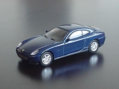 フェラーリ612スカリエッティはブルーメタリックがいいよね?サークルK・サンクスの第2弾のミニカーです。