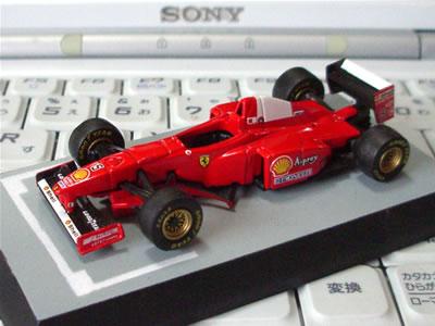 サークルK・サンクス限定京商フェラーリミニカー「フェラーリF1コレクション第1弾(1/64)」の「F310B」