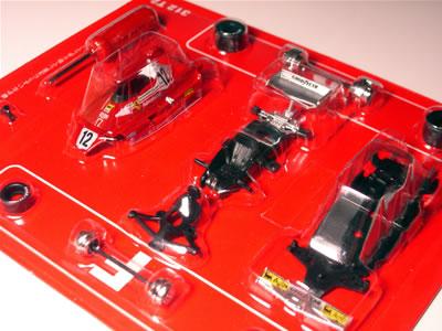 サークルK・サンクス限定京商フェラーリミニカー「フェラーリF1コレクション第2弾(1/64)」の「312T2 カルロス・ロイテマン車 カーナンバー12」
