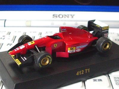 アイルトン・セナが事故死しした1994年のF1グランプリを戦ったマシン。